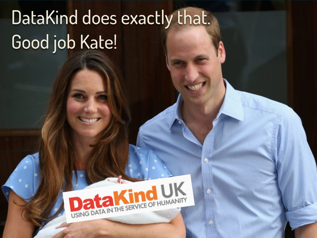 DataKind does exactly that. Good job Kate!