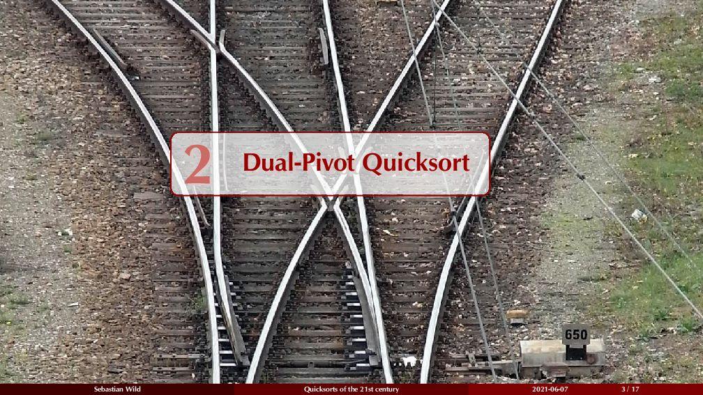 2 Dual-Pivot Quicksort 2 Dual-Pivot Quicksort S...