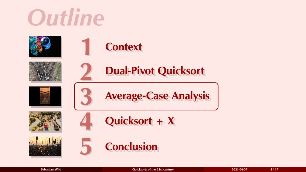 Outline 1 Context 1 Context 2 Dual-Pivot Quicks...