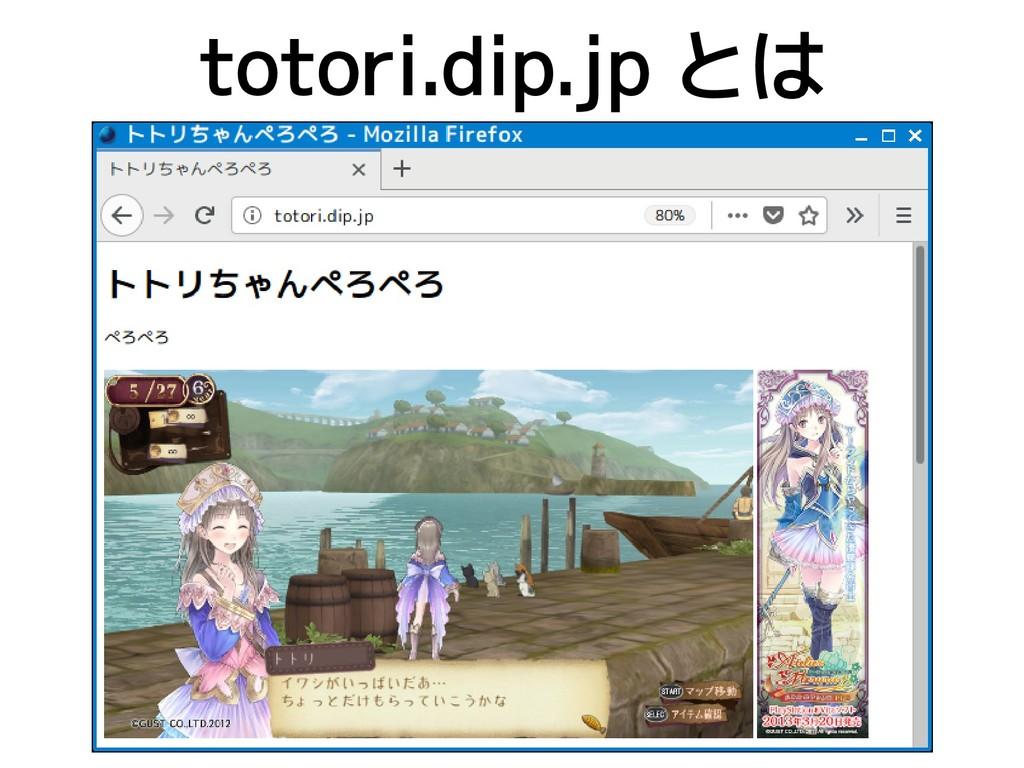 totori.dip.jp とは