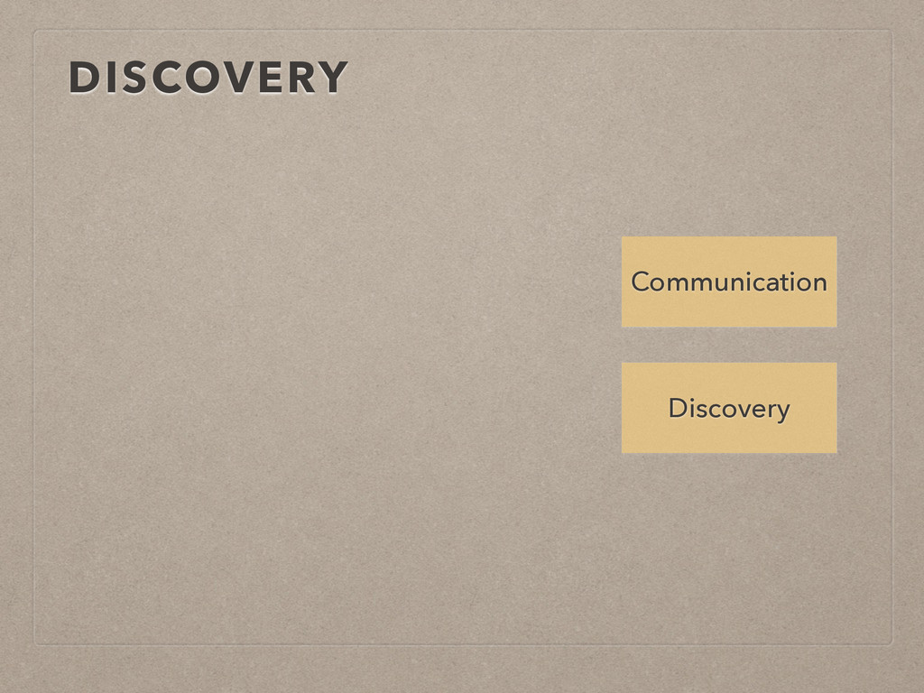 DISCOVERY Discovery Communication