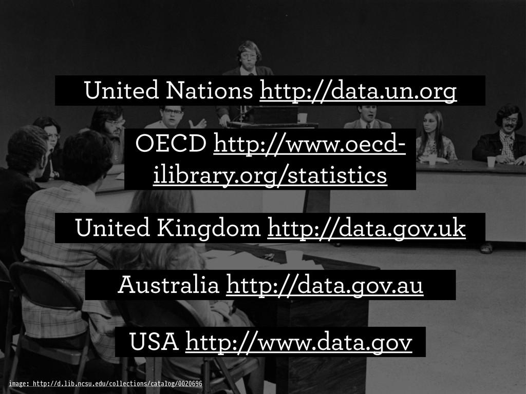 USA http://www.data.gov United Kingdom http://d...
