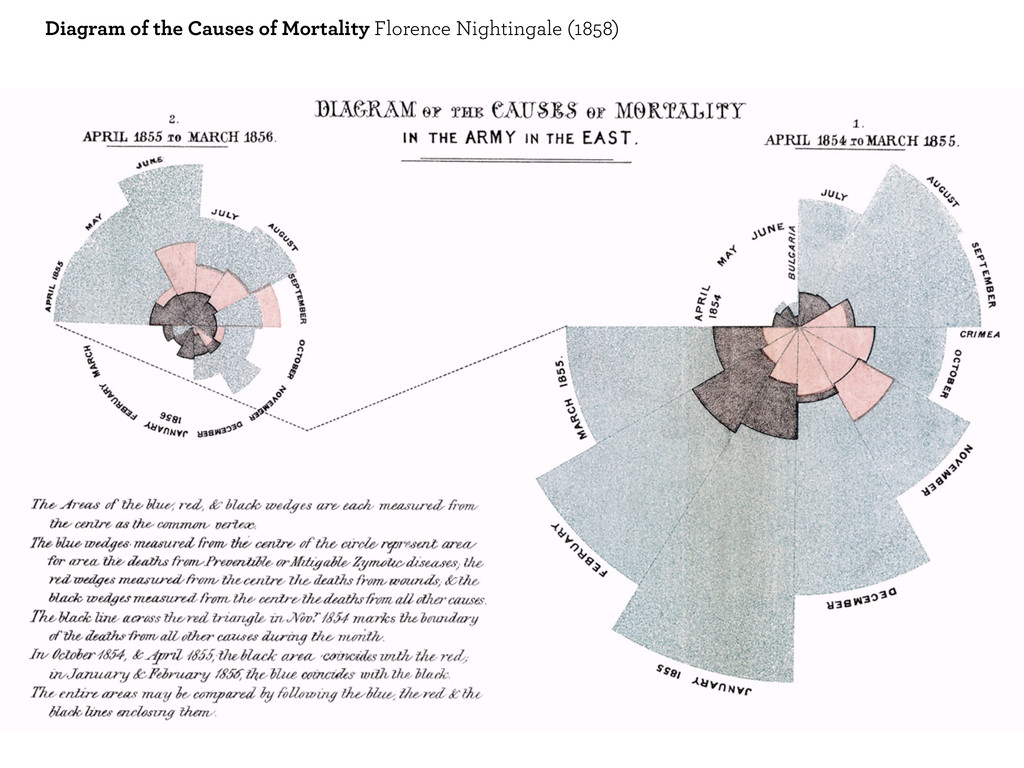 Diagram of the Causes of Mortality Florence Nig...