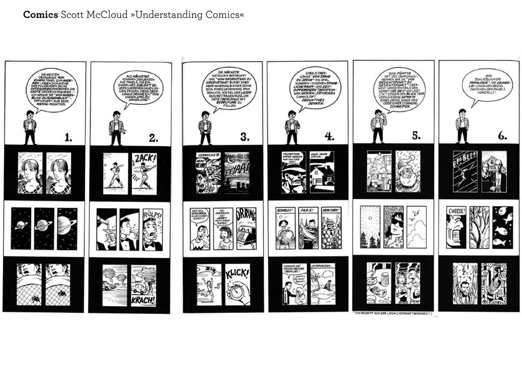 Comics Scott McCloud »Understanding Comics«