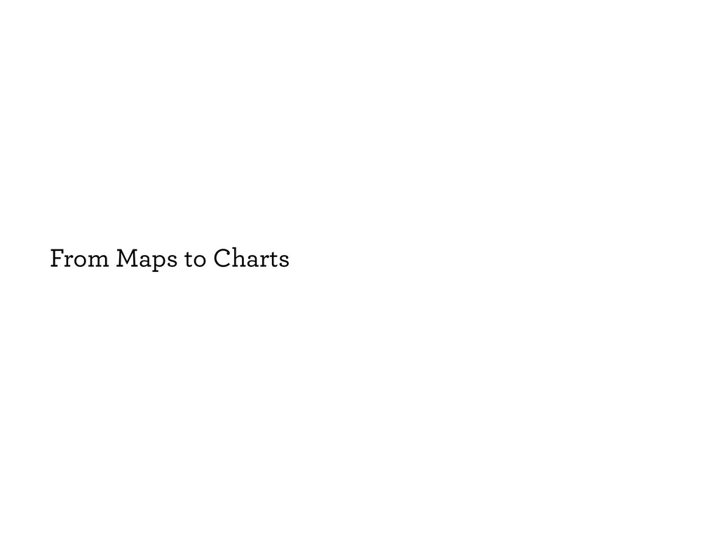 From Maps to Charts