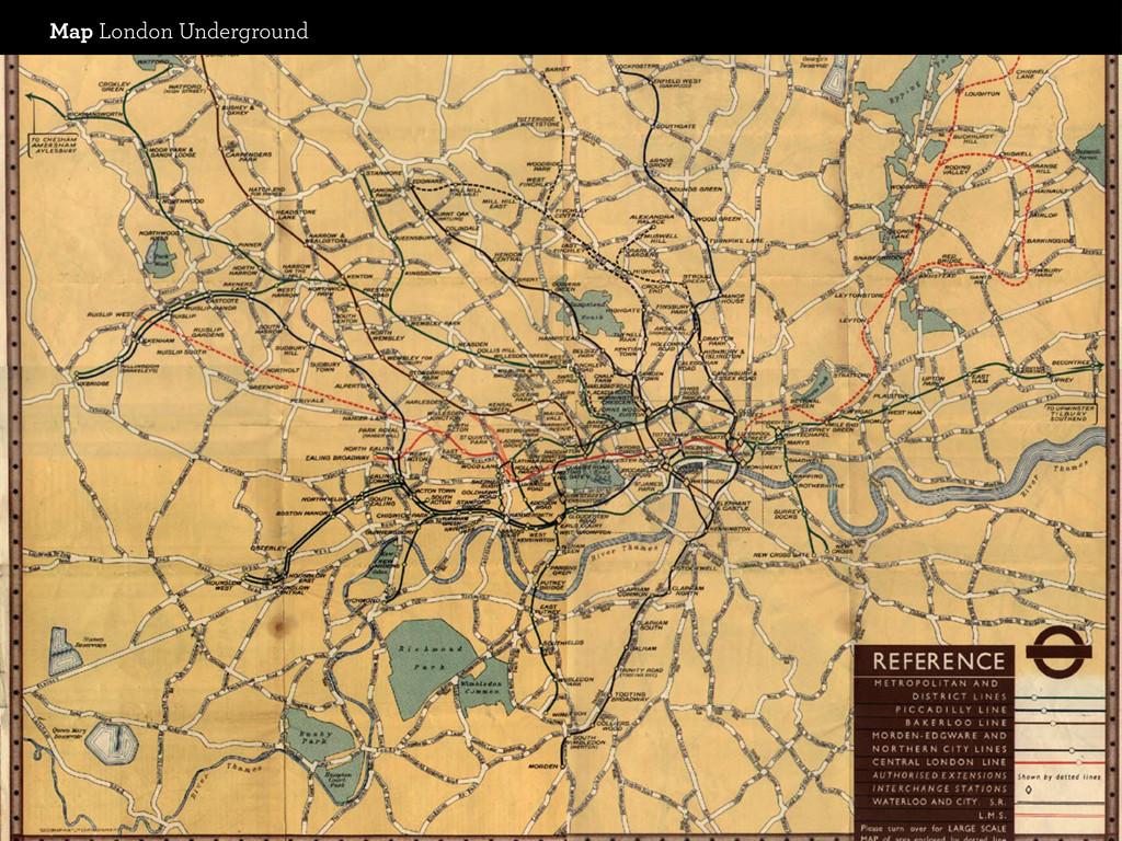 Map London Underground