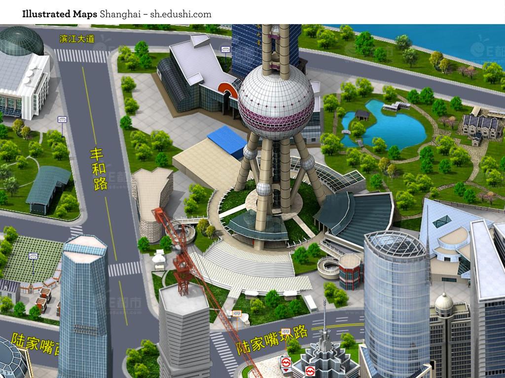 Illustrated Maps Shanghai – sh.edushi.com