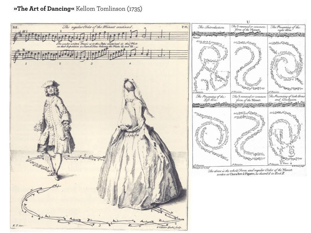 »The Art of Dancing« Kellom Tomlinson (1735)