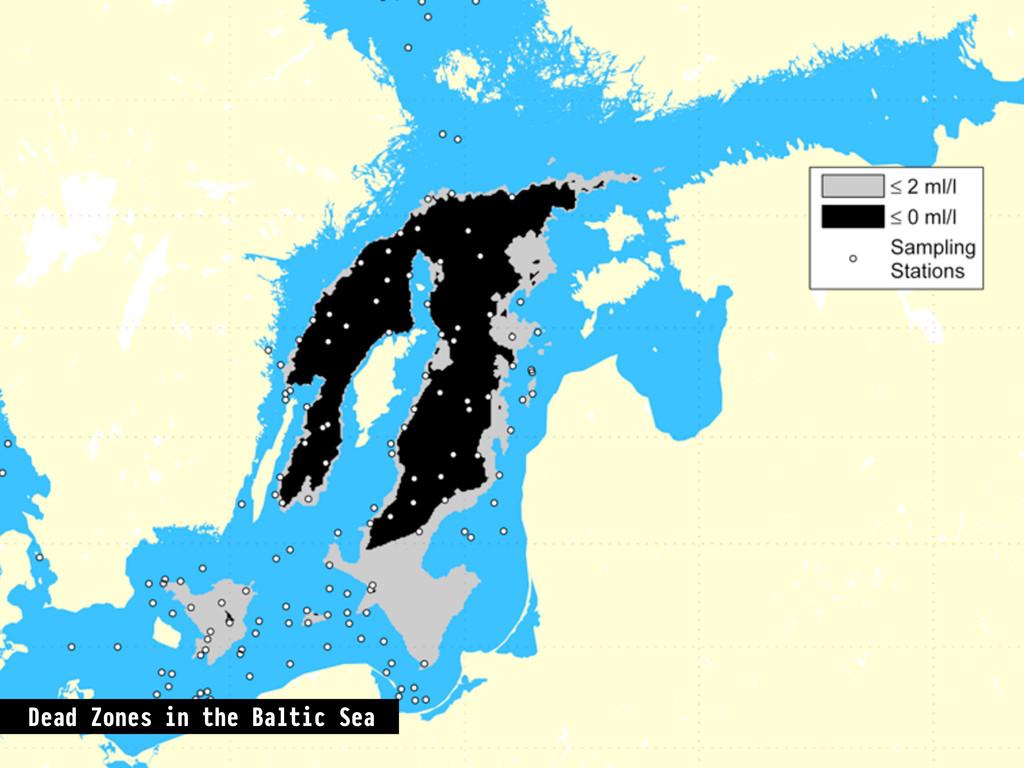 Dead Zones in the Baltic Sea