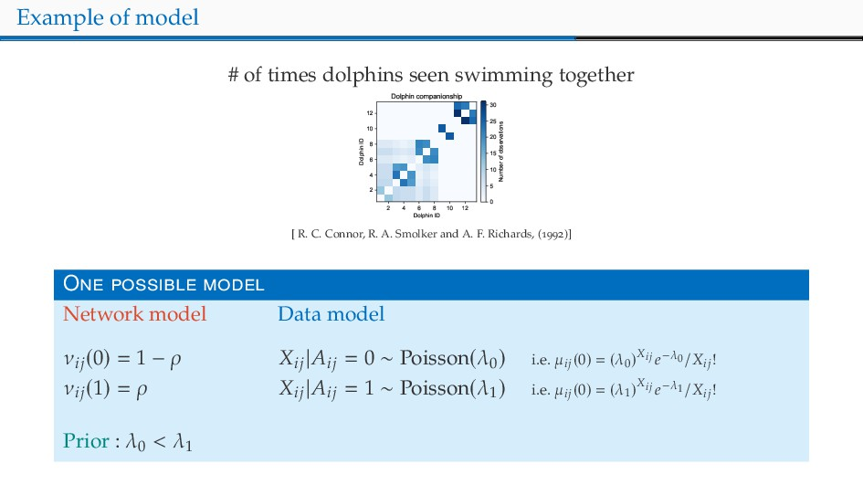 Example of model # of times dolphins seen swimm...
