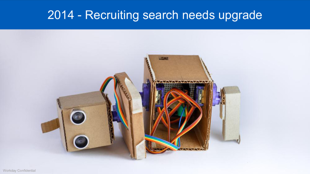 Mar 2009 - 2014 - Recruiting search needs upgra...