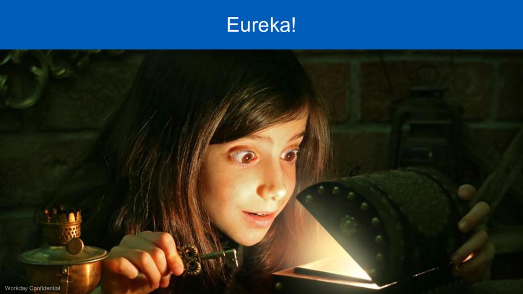 Workday Confidential Eureka!
