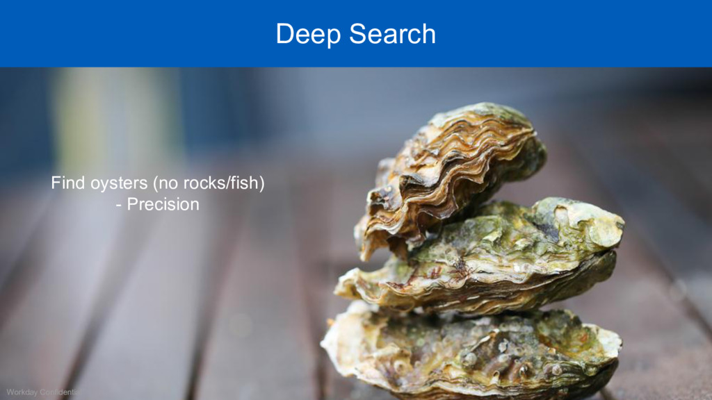 Workday Confidential Deep Search Find oysters (...