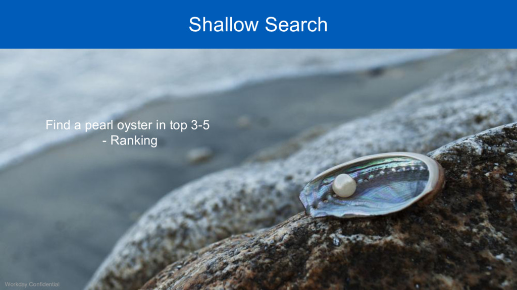 Workday Confidential Shallow Search Find a pear...