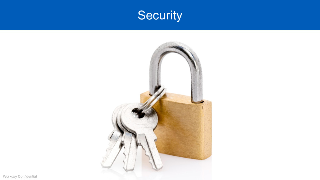 Workday Confidential Security