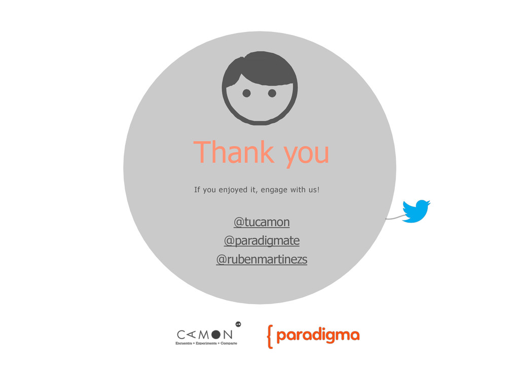 Thank you If you enjoyed it, engage with us! @t...