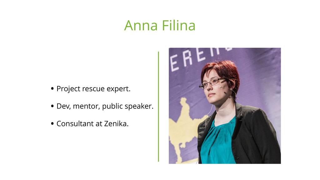 • Project rescue expert. • Dev, mentor, public ...