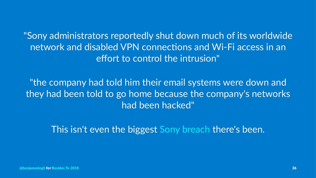 """""""Sony administrators reportedly shut down much ..."""