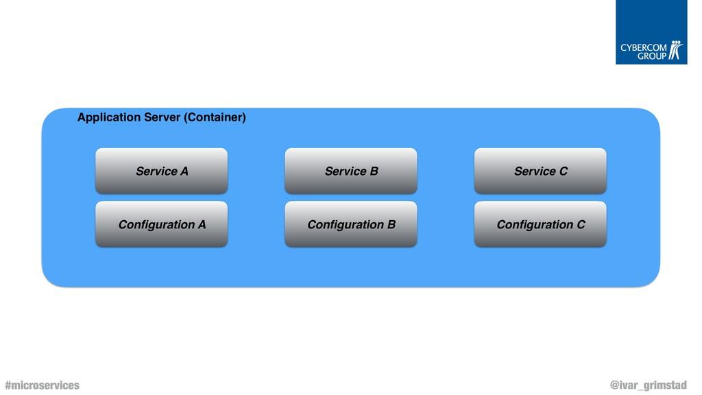 @ivar_grimstad #microservices Application Serve...