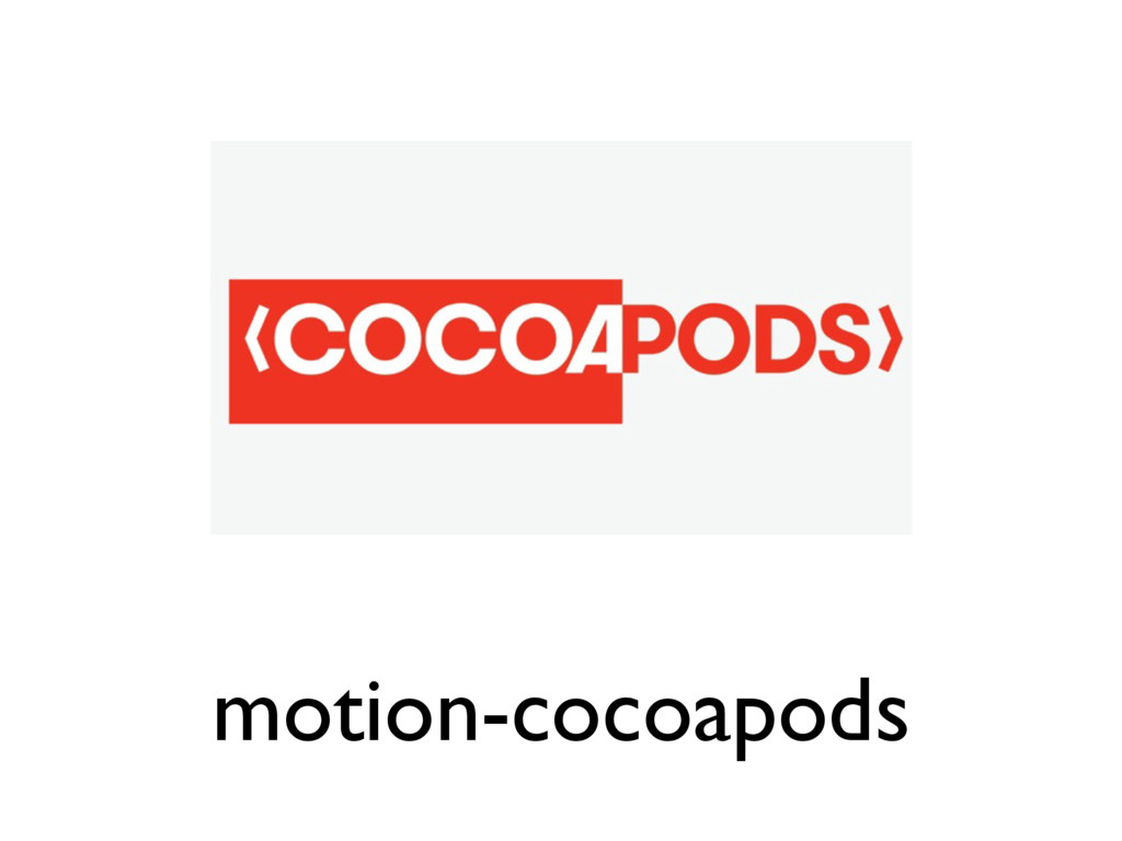 motion-cocoapods