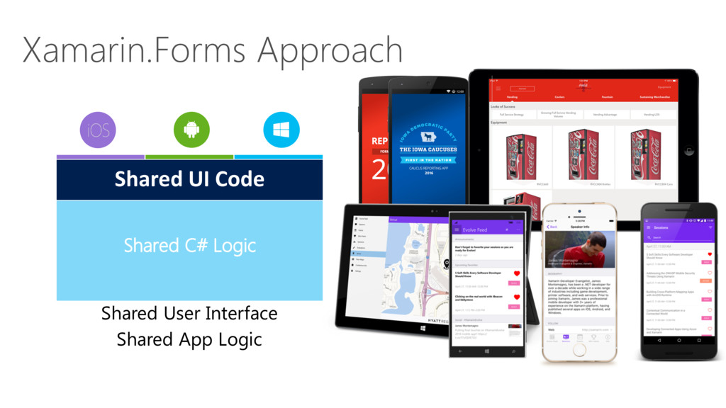Xamarin.Forms Approach Shared User Interface Sh...