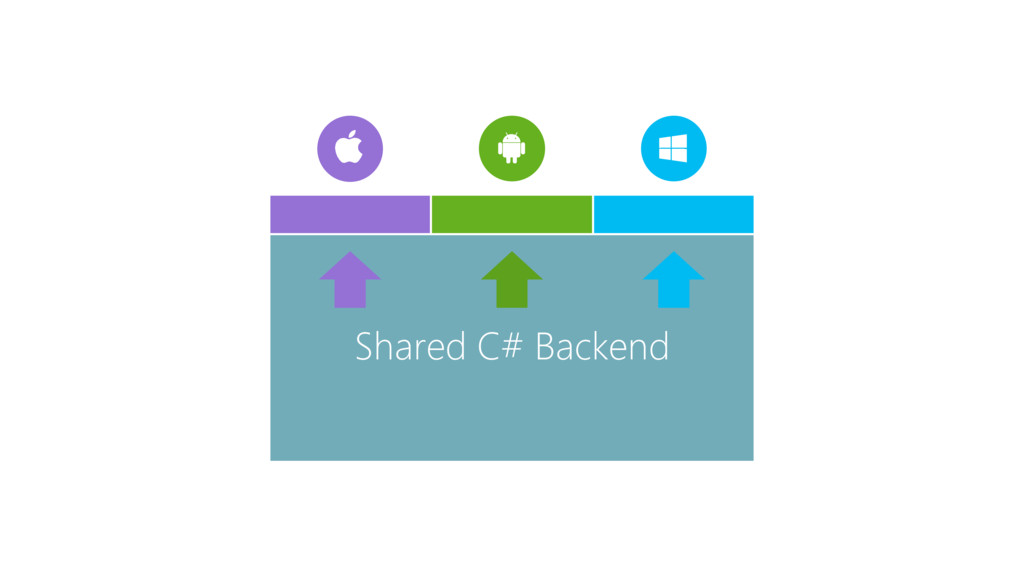 Shared C# Backend
