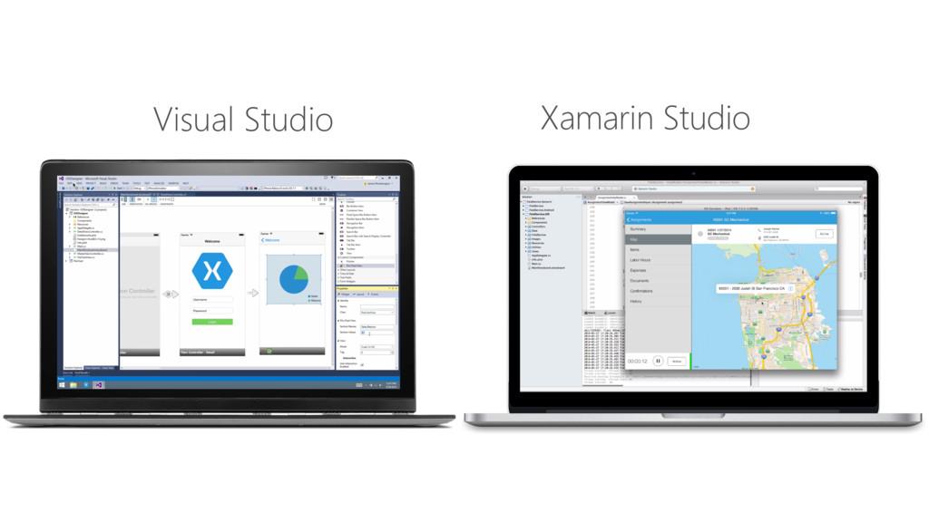 Visual Studio Xamarin Studio