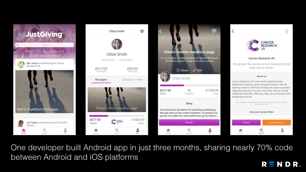 One developer built Android app in just three m...