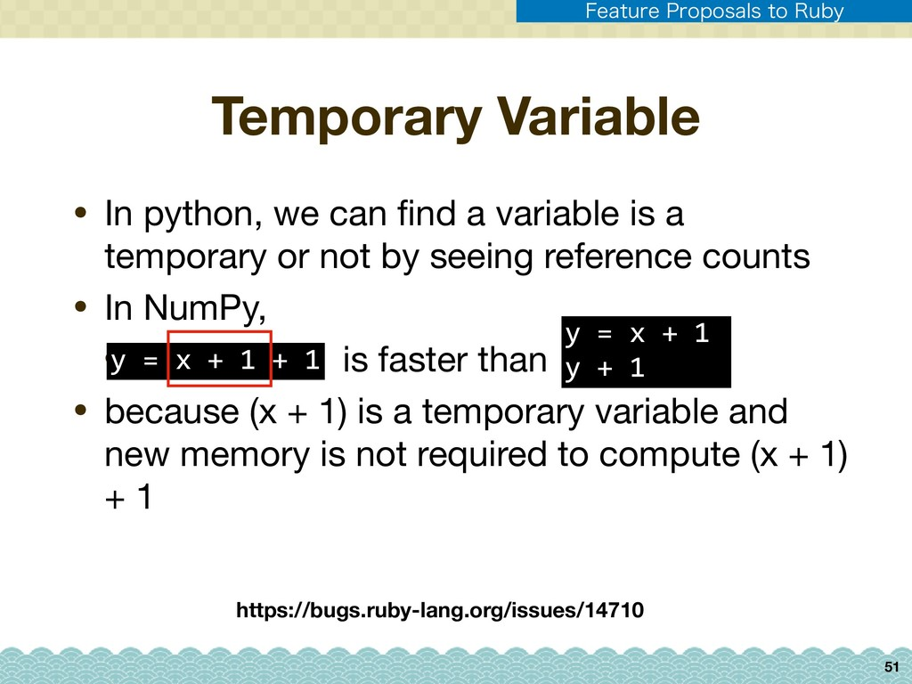Temporary Variable • In python, we can find a va...