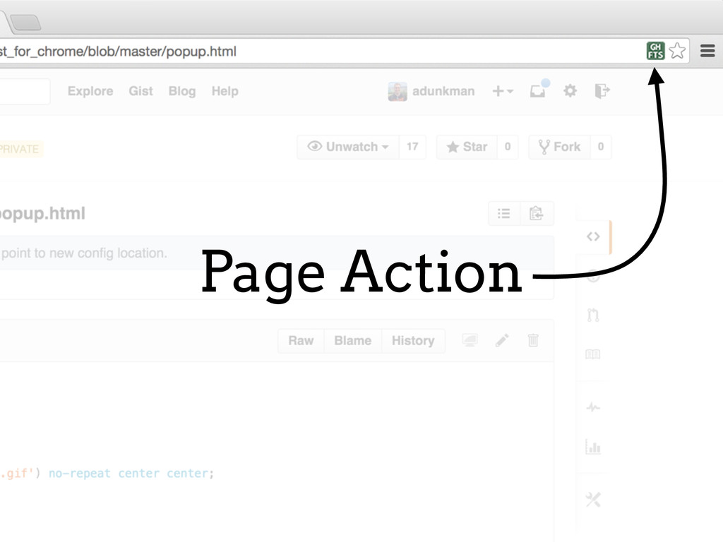Page Action