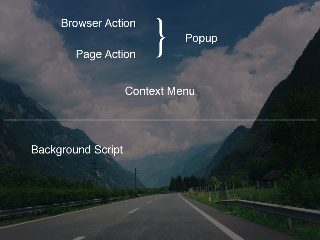 Browser Action Page Action Popup Context Menu B...