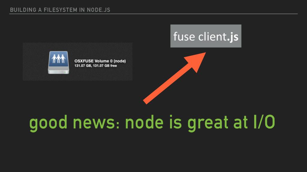 BUILDING A FILESYSTEM IN NODE.JS fuse client...