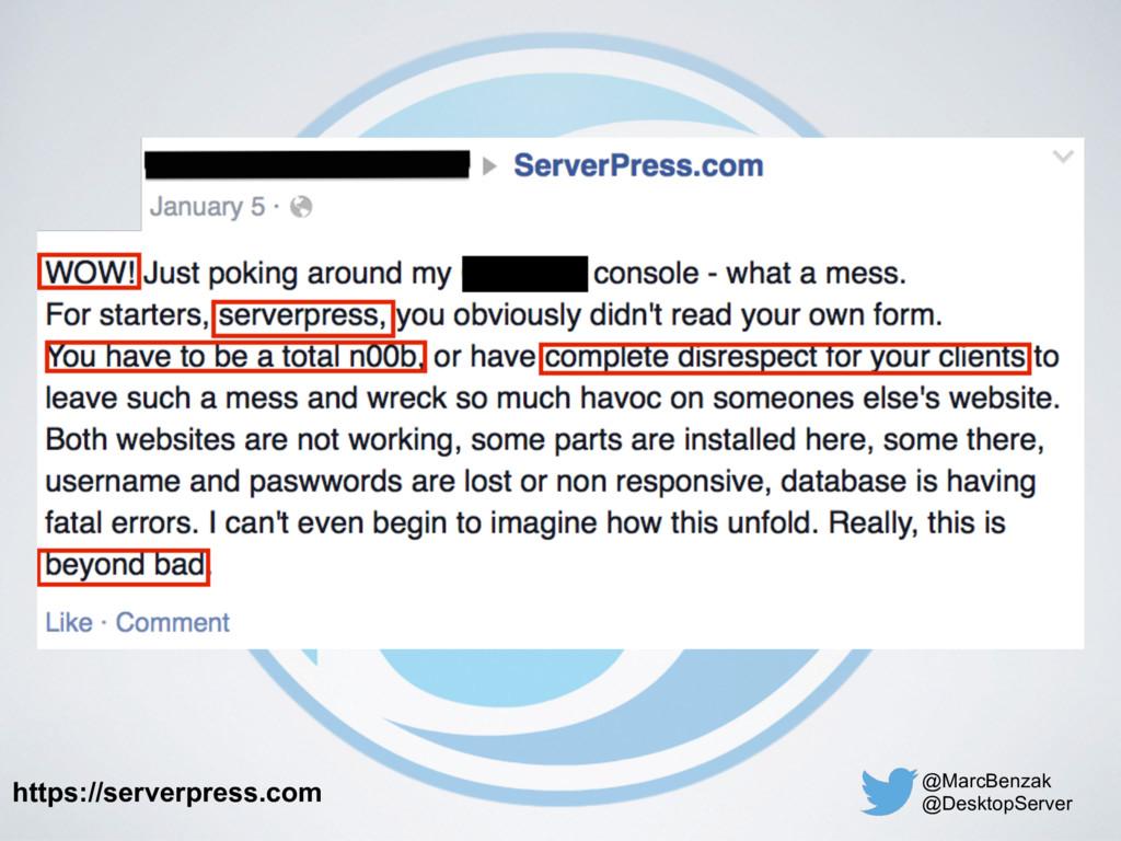 @MarcBenzak @DesktopServer https://serverpress....