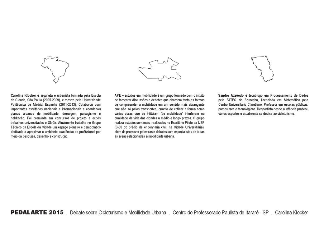 PEDALARTE 2015 . Debate sobre Cicloturismo e Mo...