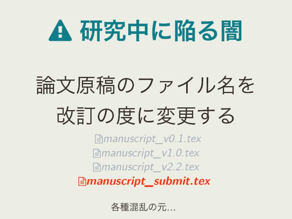  ݚڀதʹؕΔҋ จݪߘͷϑΝΠϧ໊Λ վగͷʹมߋ͢Δ manuscript_v0....