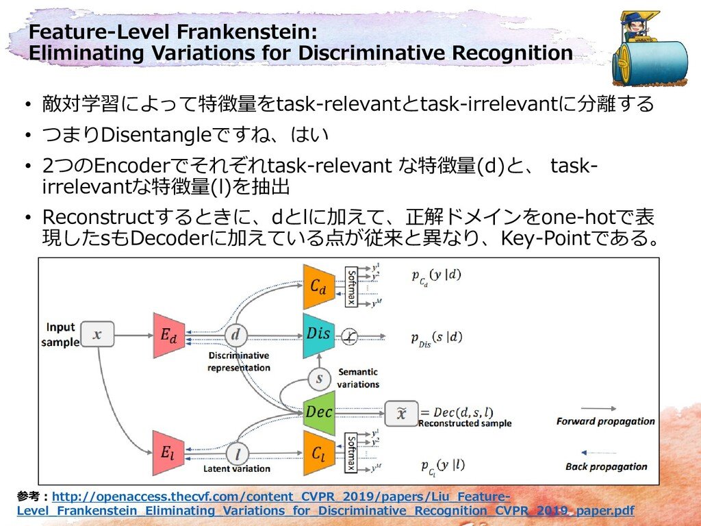 Feature-Level Frankenstein: Eliminating Variati...