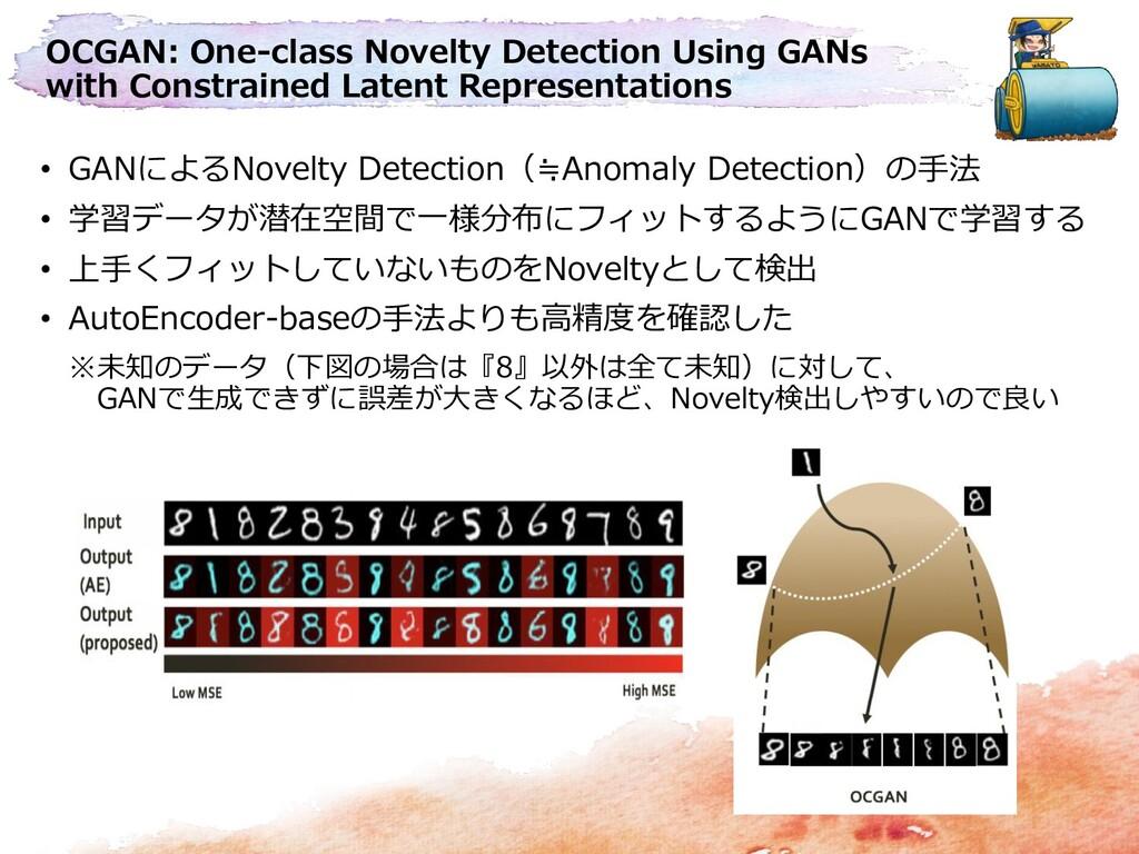 OCGAN: One-class Novelty Detection Using GANs w...