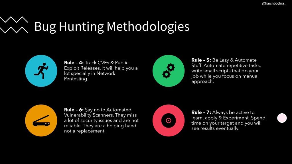 Bug Hunting Methodologies Rule – 4: Track CVEs ...