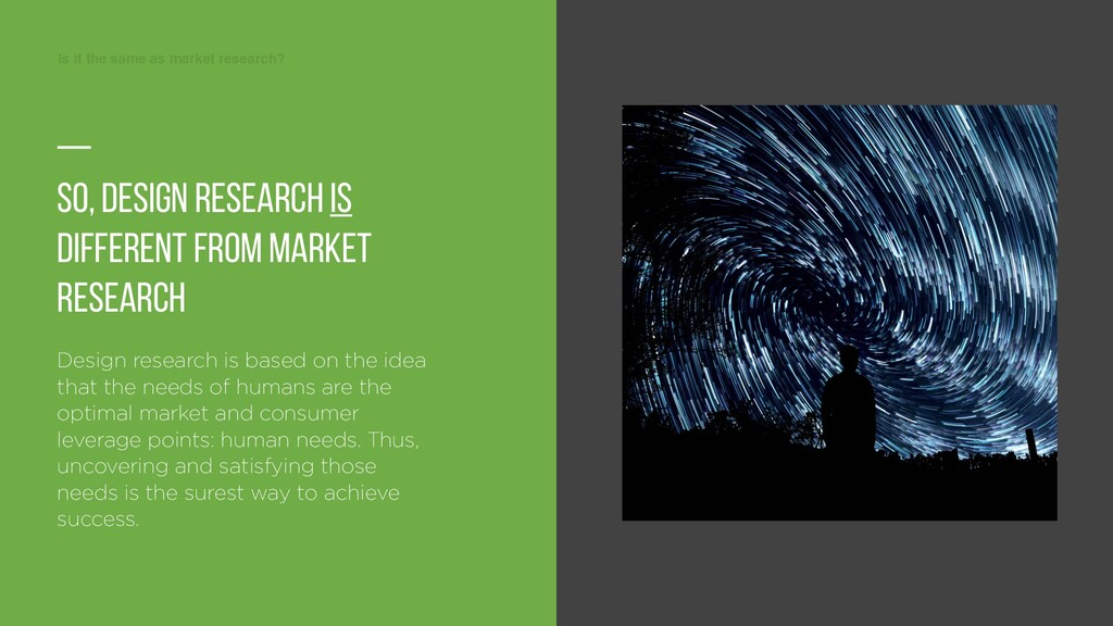 Is it the same as market research? Is it the sa...