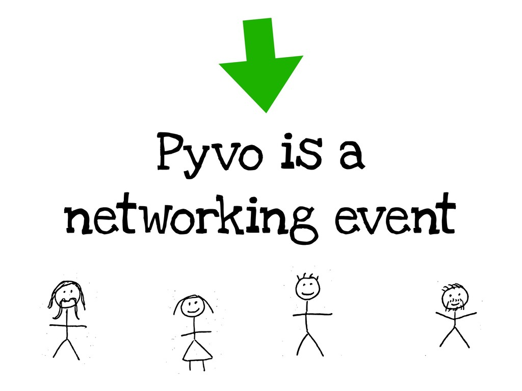 Pyvo is a networking event