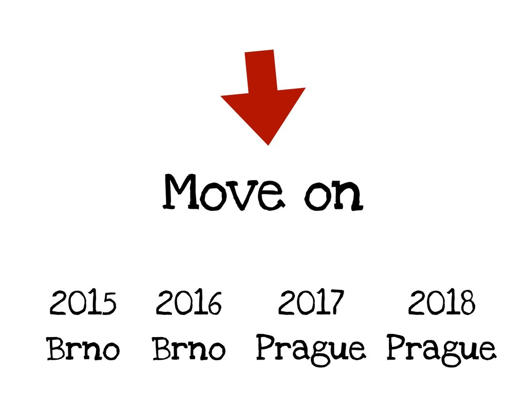 Move on 2015 Brno 2016 Brno 2017 Prague 2018 Pr...