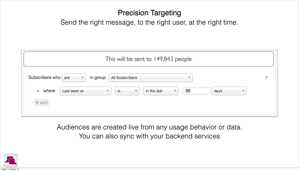 This will be sent to 149,843 people Precision T...