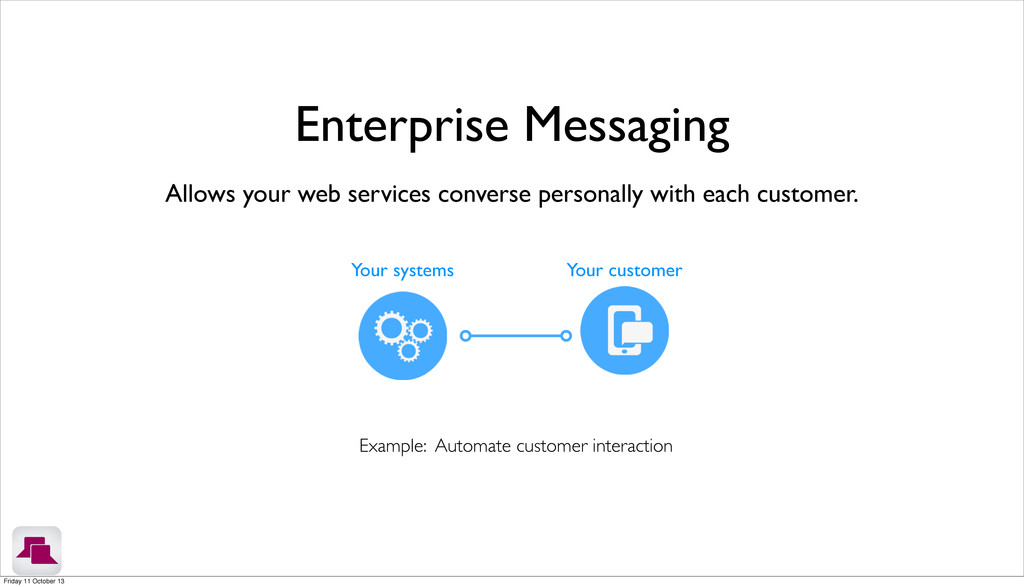 Allows your web services converse personally wi...
