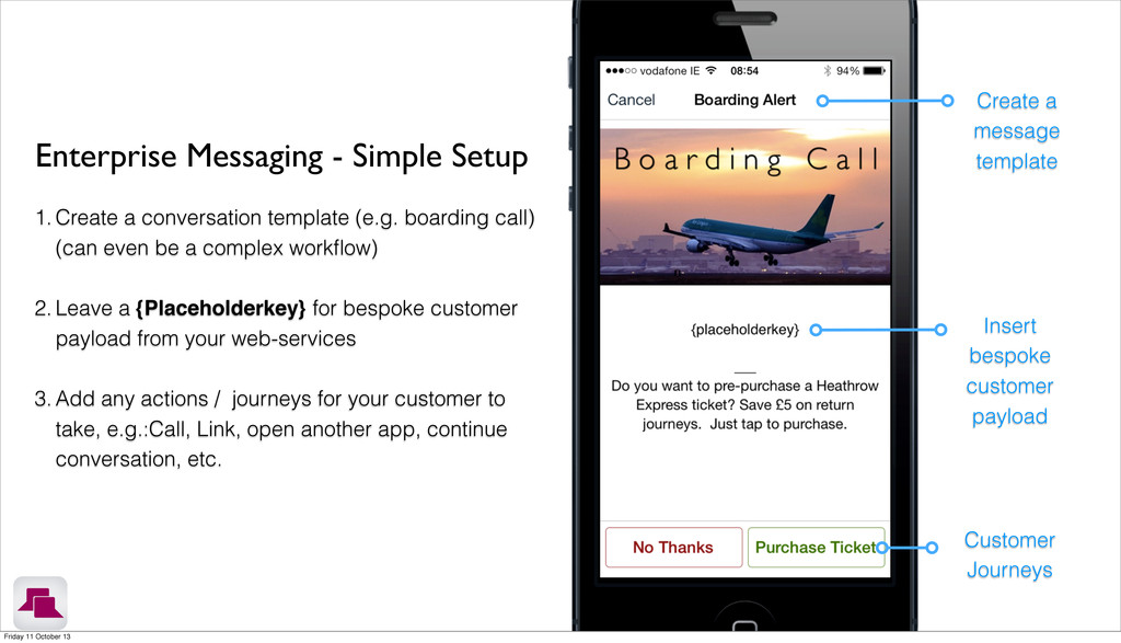 Enterprise Messaging - Simple Setup 1. Create a...
