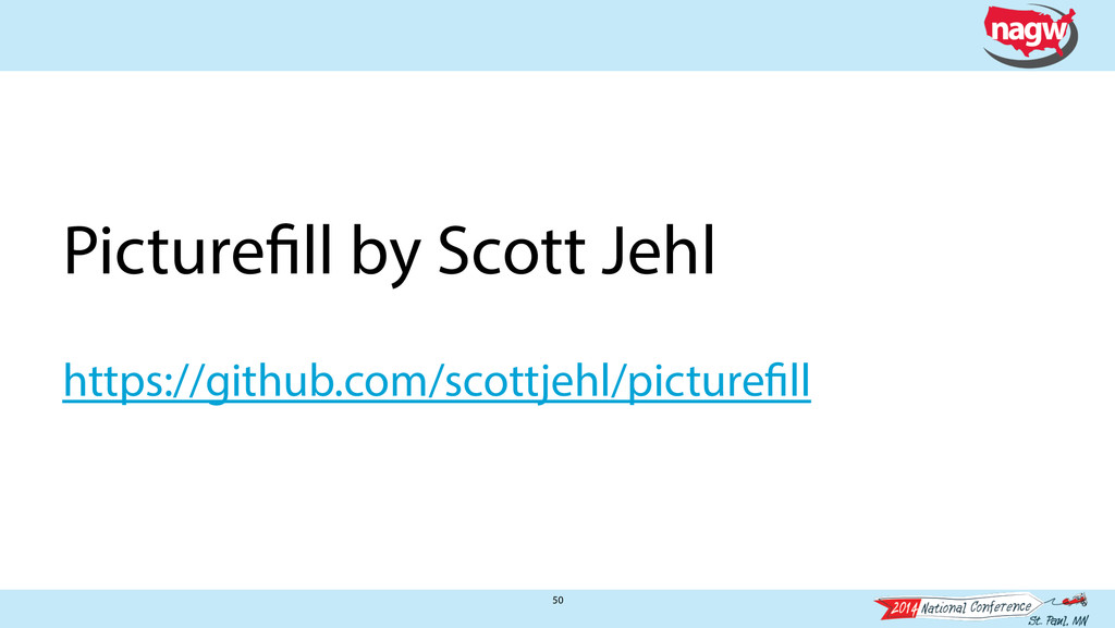 50 Picturefill by Scott Jehl ! https://github.c...