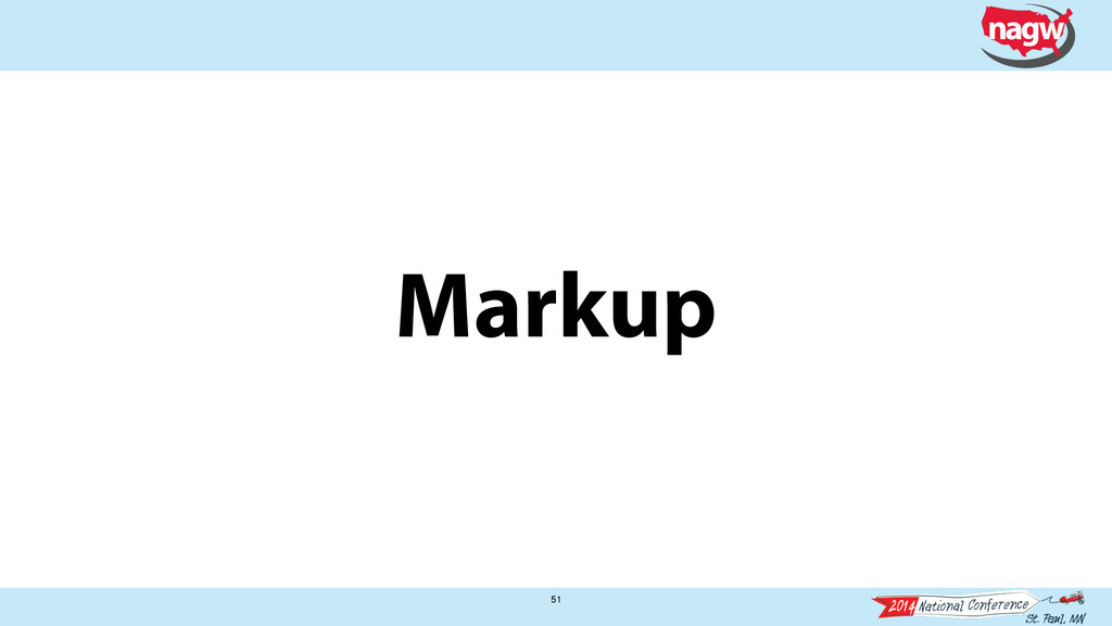 Markup 51