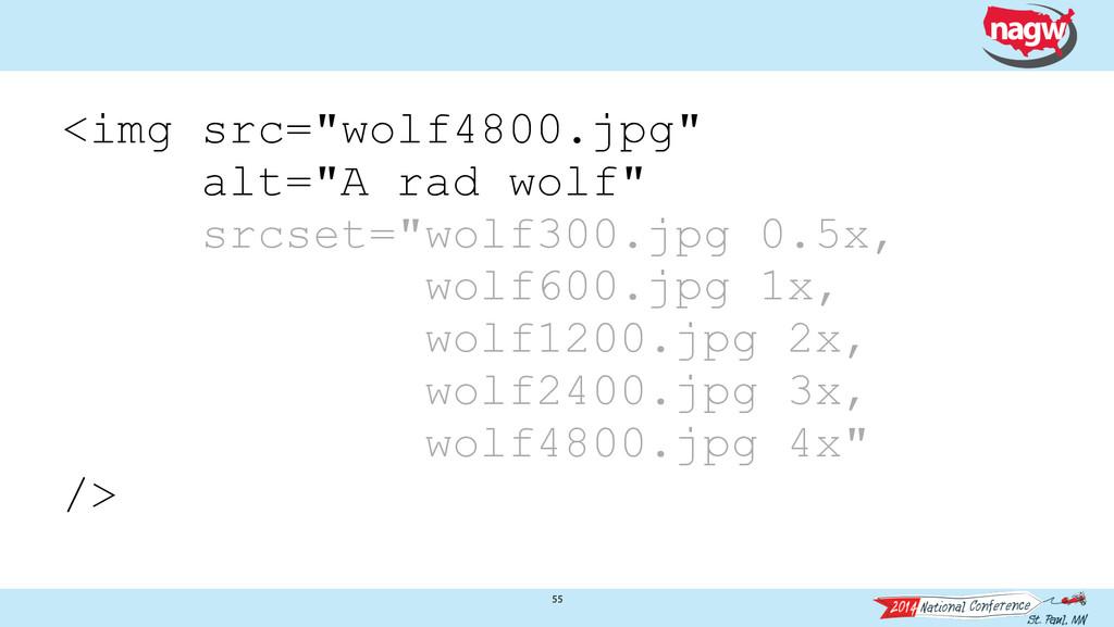 "55 <img src=""wolf4800.jpg"" alt=""A rad wolf"" src..."