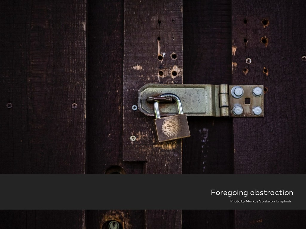 Foregoing abstraction Photo by Markus Spiske on...