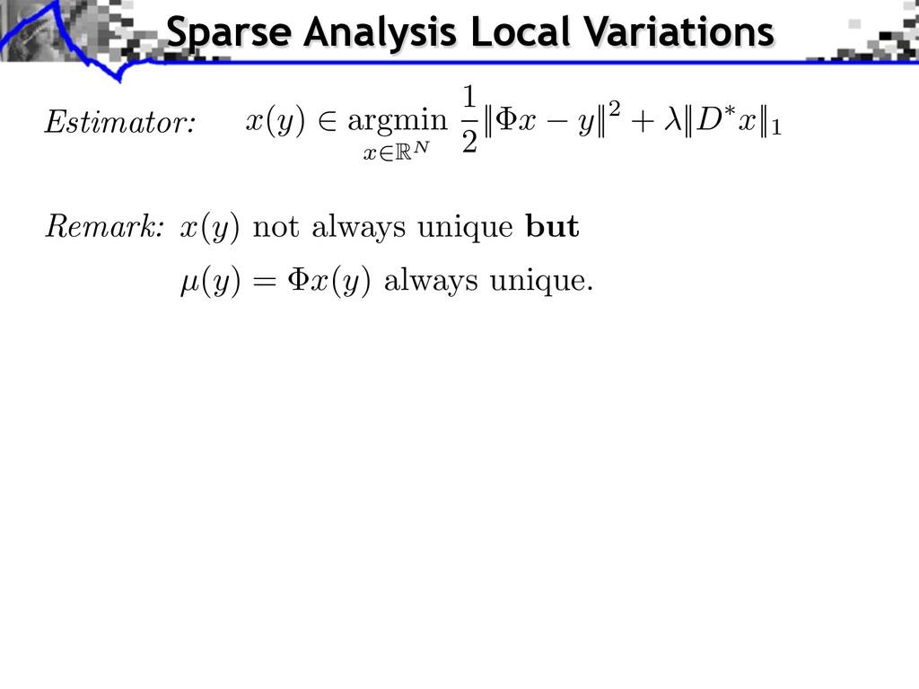 Estimator: x ( y ) 2 argmin x 2RN 1 2    x y   ...