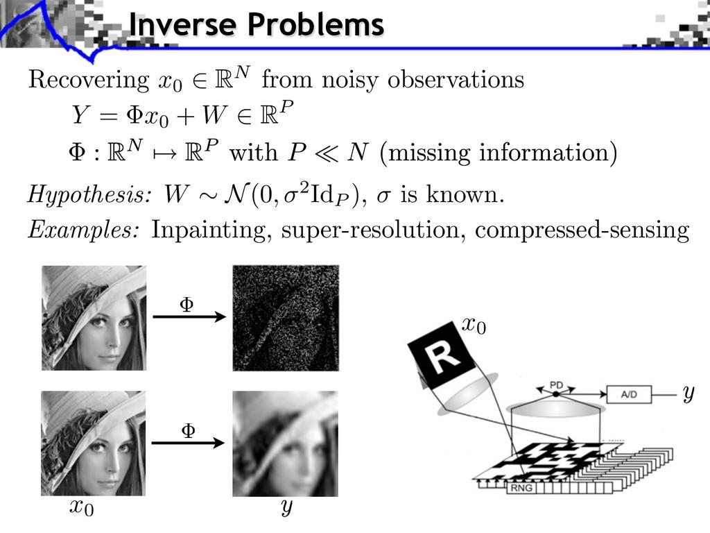 Y = x0 + W 2 RP Hypothesis: W ⇠ N (0 , 2 IdP ),...